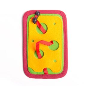 Trénovací kartička pro děti MYŠKA A SÝR