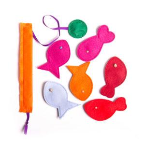 Magnetické rybyčky - dětská hra